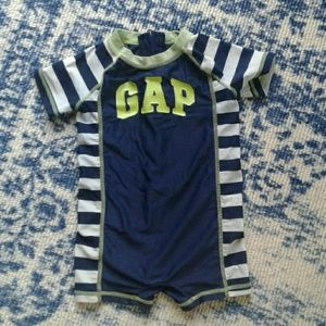 Size 6 -12 month baby Gap swimsuit